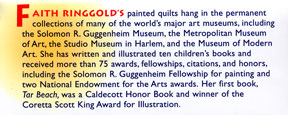 Faith Ringgold background story