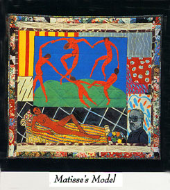 Matisses's Model by Faith Ringgold