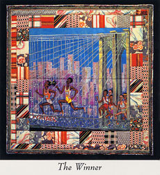 Faith Ringgold painting